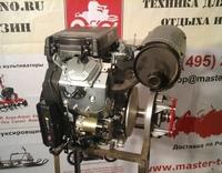 Двигатель для снегохода Буран 620 куб/см двухцилиндровый 4-х тактный мощностью 28 л.с. с электростартом