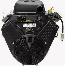 Двигатель Briggs Stratton V-Twin Vanguard 896 27 л.с. D=28.575 мм L= 101.6 мм 20A с электростартером