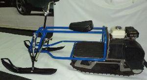Лыжный модуль к мотобуксировщику своими руками
