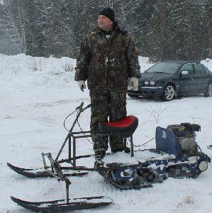 Лыжный модуль своими руками фото