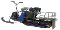 Мотобуксирощик Мухтар-15 New с лыжным модулем
