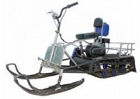 Мотобуксирощик Мухтар-7 New с лыжным модулем