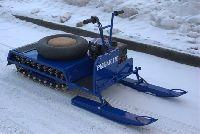 Мини снегоход Рыбак 2М