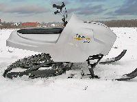 Миниснегоход Snow-fly одноместный с вариатором Comet США