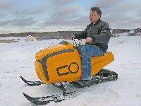 Миниснегоход Snow-fly одноместный с автоматической трансмиссией в масляной ванне