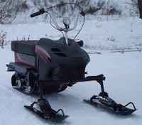 Снегомопед Тэсик с двигателем GreenField GF 168-F1 (GX-200) (Китай)