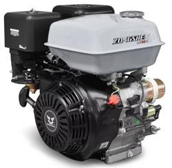 Двигатель бензиновый Zongshen 190FE 15 л.с. D=25 мм L= 63 мм Электрический стартер Катушка 12В108Вт Выпрямитель Для минитракторов, строительной техники, самоходной техники, вездеходов