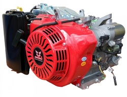 Двигатель бензиновый Zongshen 190F-2 15 л.с. Конус 1:5 L=48,5 мм Фланец под альтернатор