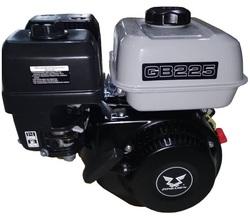 Двигатель бензиновый Zongshen GB 225 7.5 л.с. D=19,05 мм L= 62 мм Для мотокультиваторов, мотоблоков, АВД, мотопомп, садового и строительного оборудования