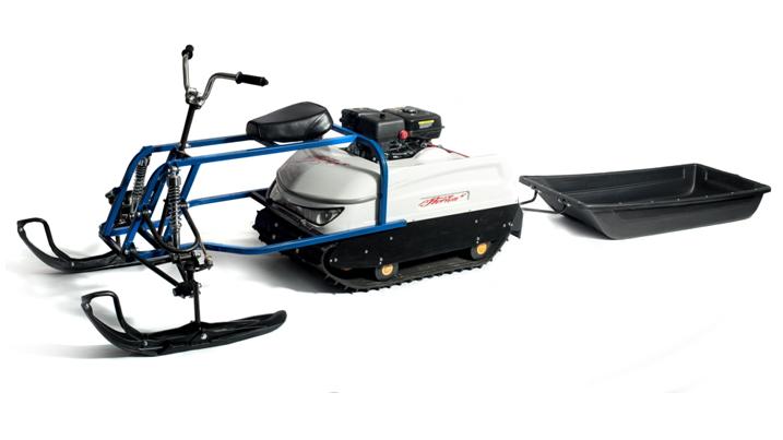 Лыжные модули для мотобуксировщиков