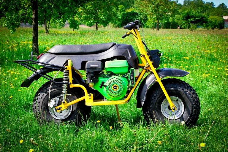 Квадроцикл из мотокультиватора
